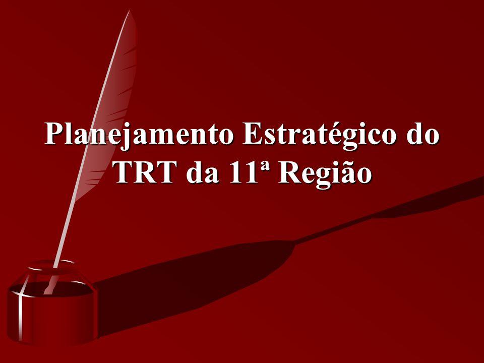 Planejamento Estratégico do TRT da 11ª Região