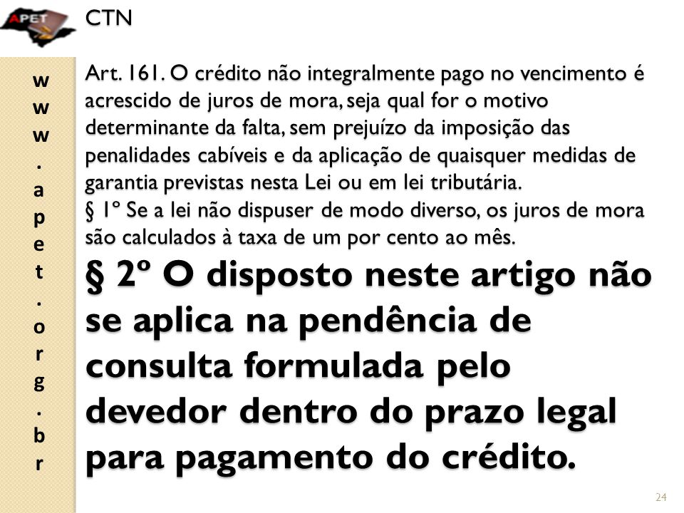 CTN Art. 161.