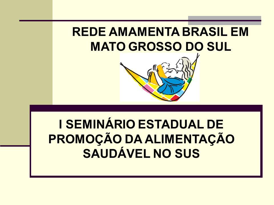 REDE AMAMENTA BRASIL EM MATO GROSSO DO SUL