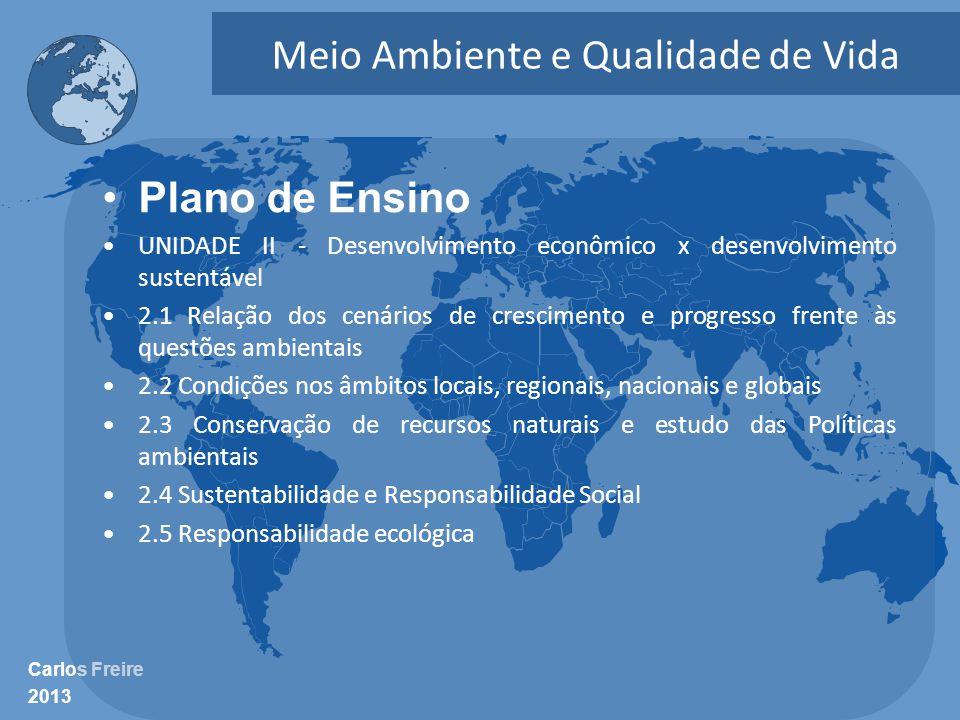 Meio Ambiente e Qualidade de Vida