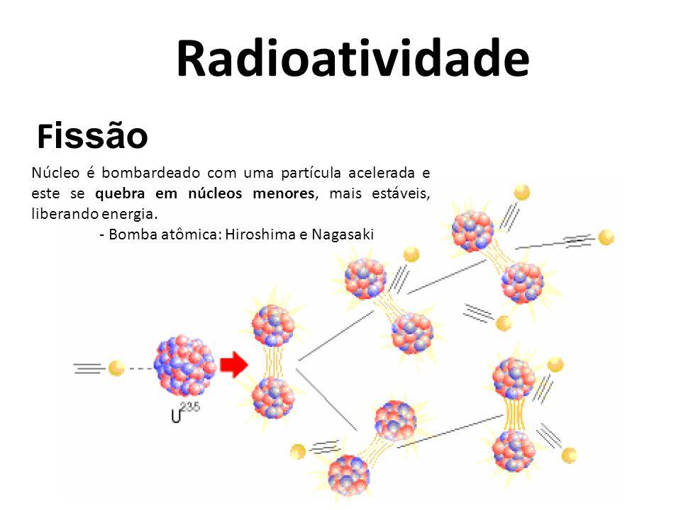 Radioatividade Fissão