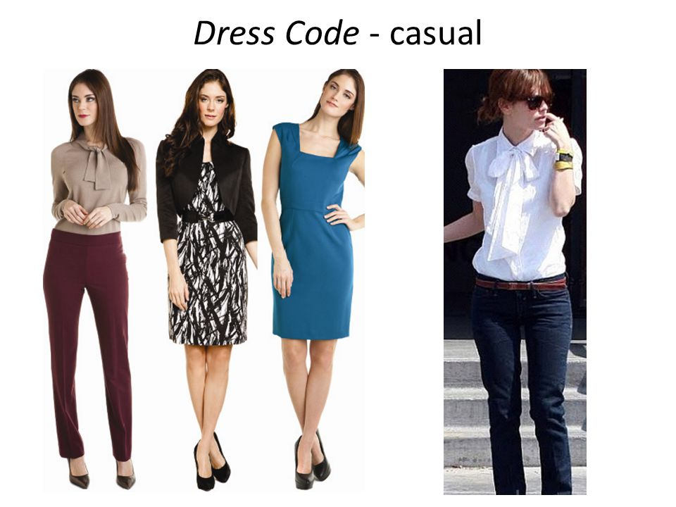 Dress Code - casual