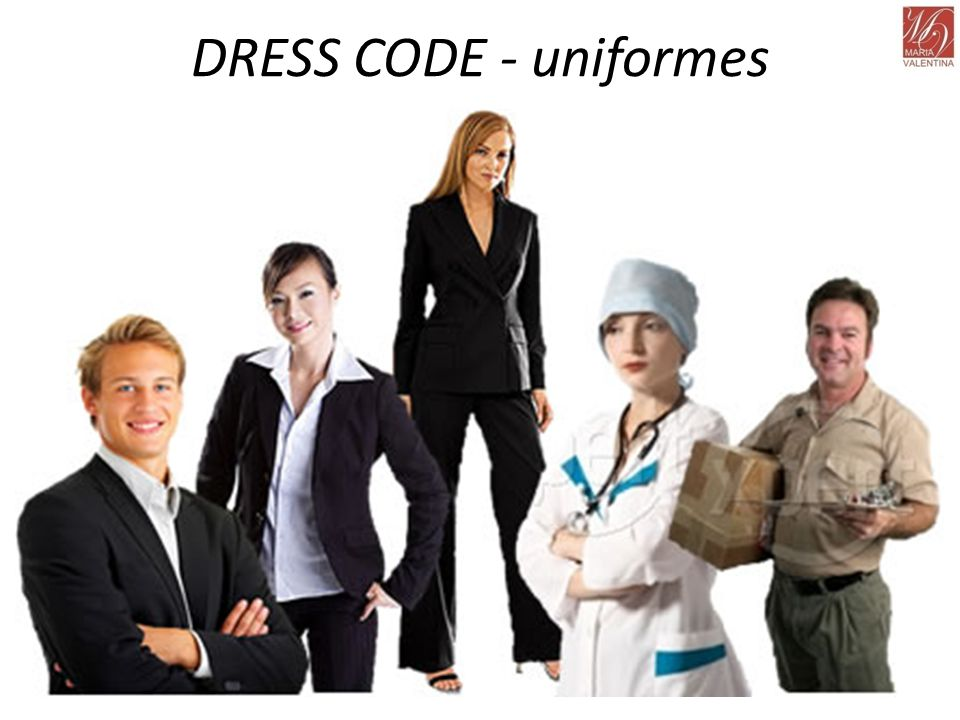 DRESS CODE - uniformes