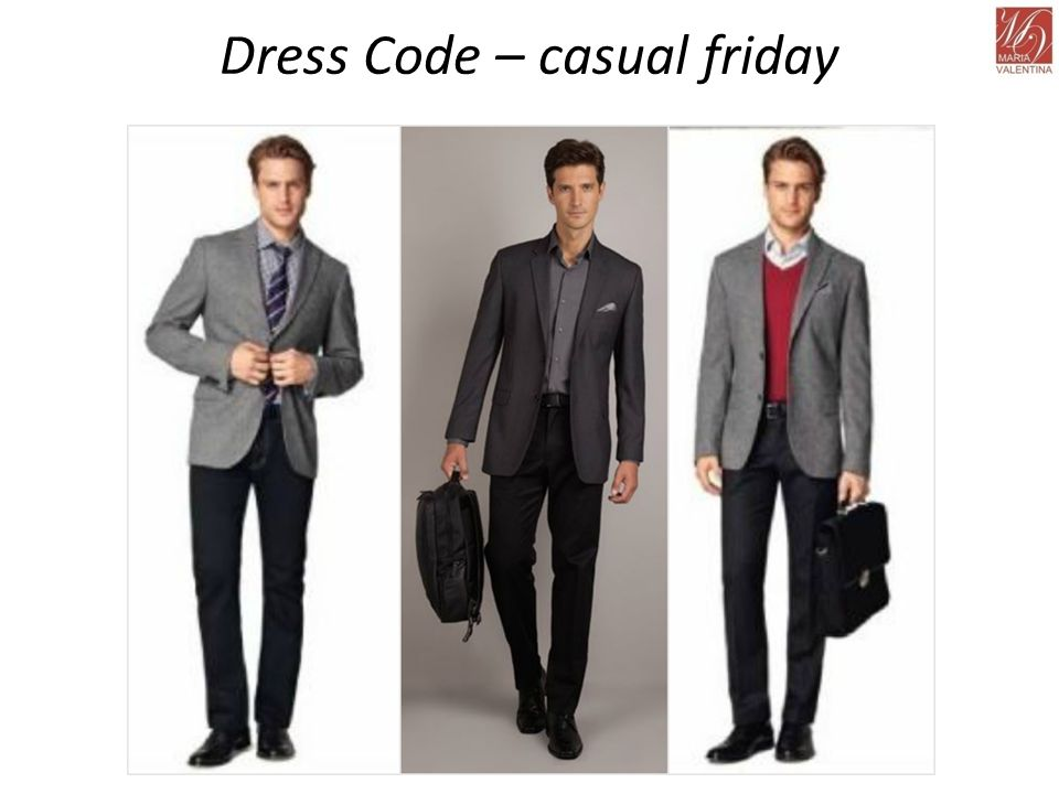 Dress Code – casual friday