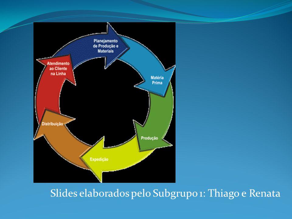 Slides elaborados pelo Subgrupo 1: Thiago e Renata