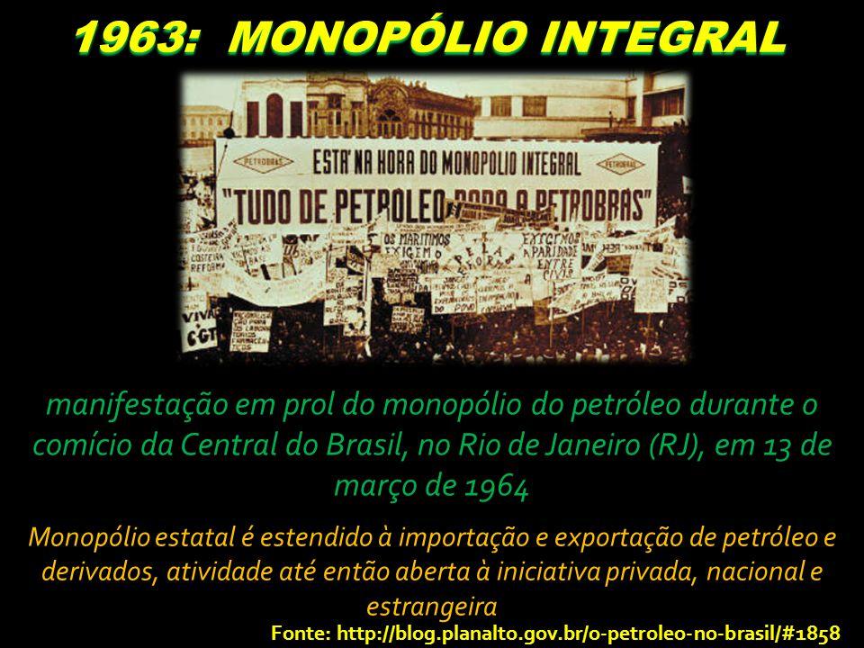 1963: MONOPÓLIO INTEGRAL