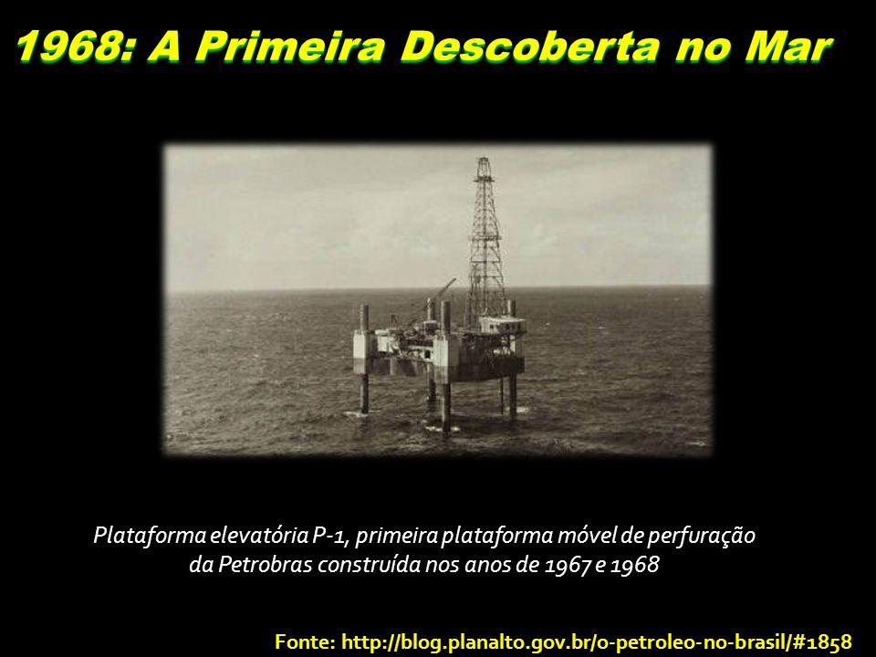 1968: A Primeira Descoberta no Mar