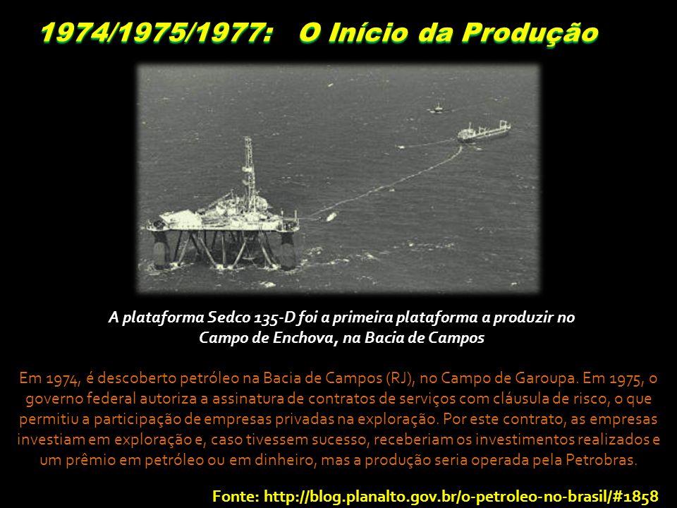 1974/1975/1977: O Início da Produção