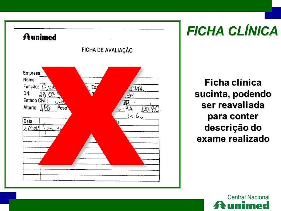 FICHA CLÍNICA X.