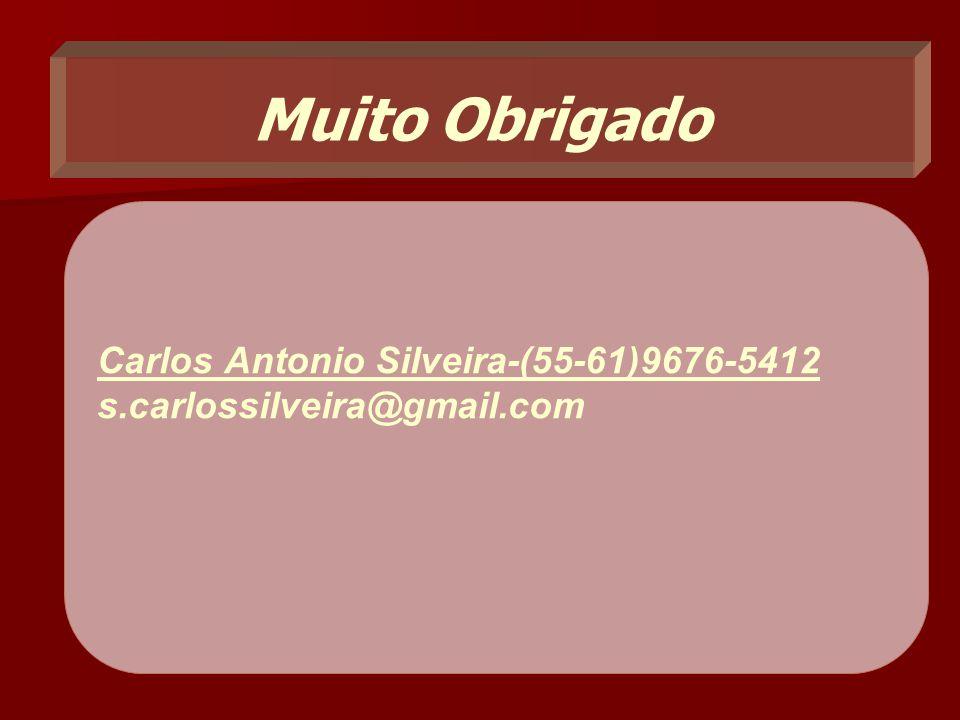 Muito Obrigado Carlos Antonio Silveira-(55-61)9676-5412