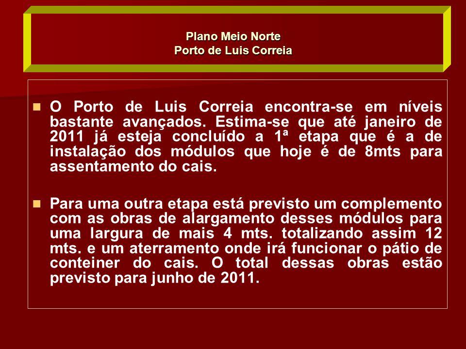 Plano Meio Norte Porto de Luis Correia