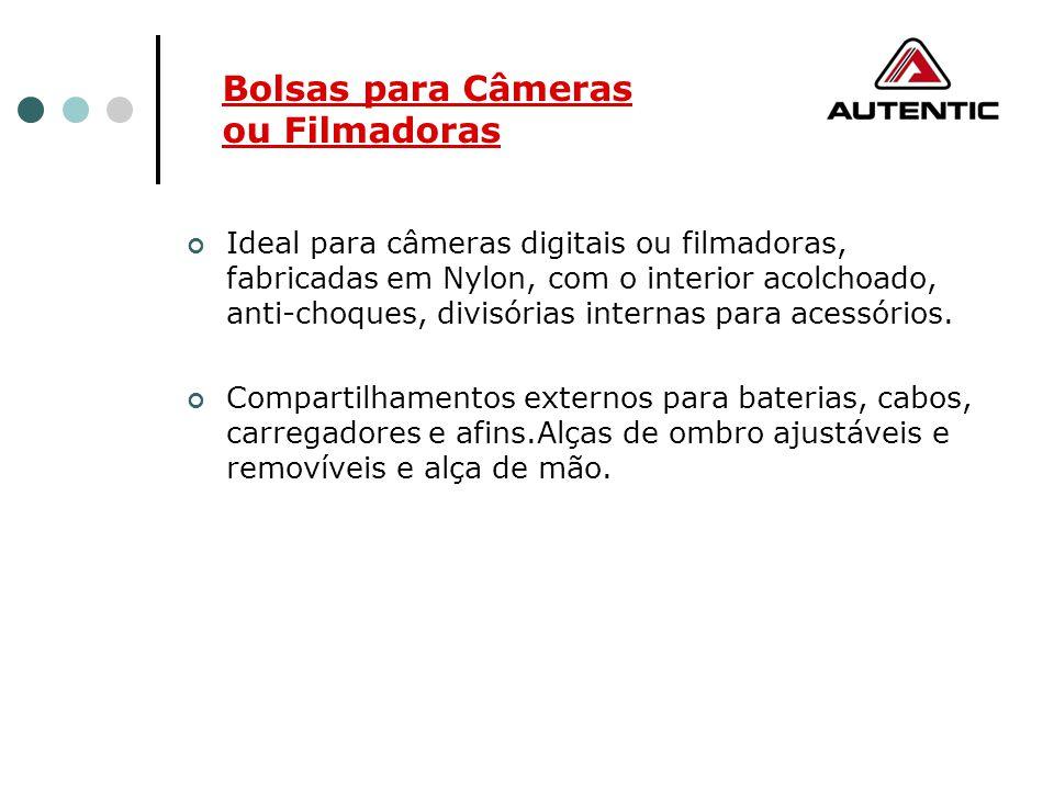 Bolsas para Câmeras ou Filmadoras