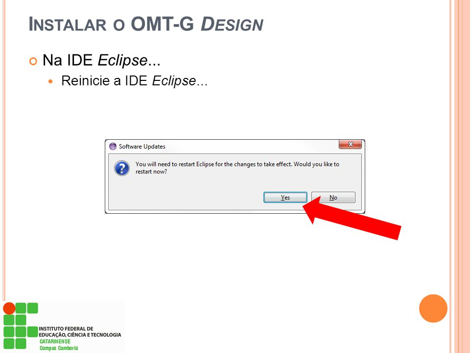 Instalar o OMT-G Design