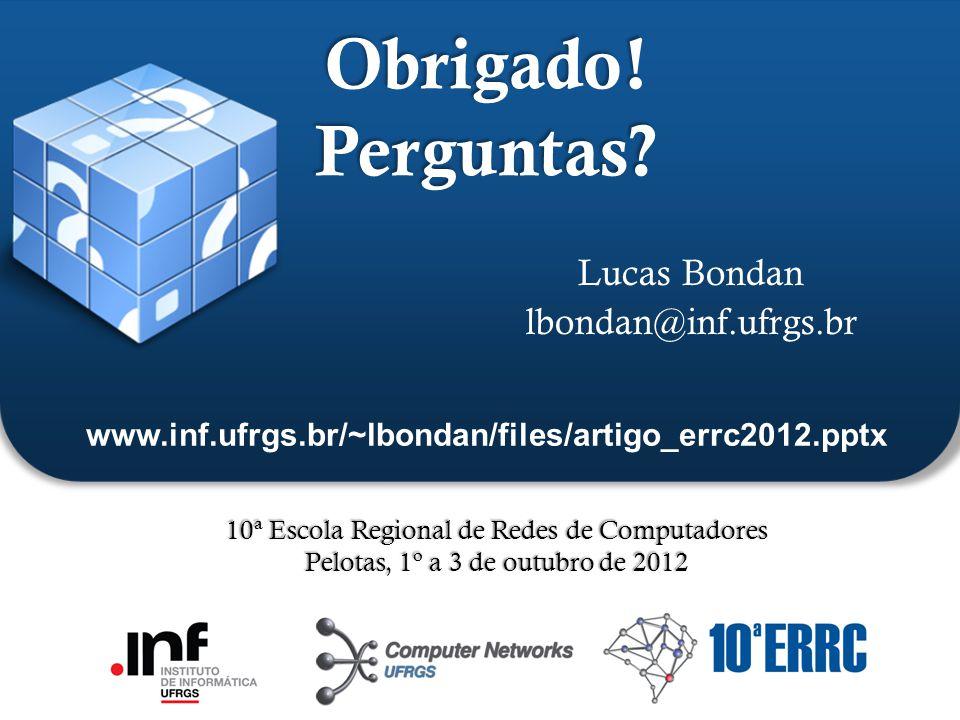 Lucas Bondan lbondan@inf.ufrgs.br