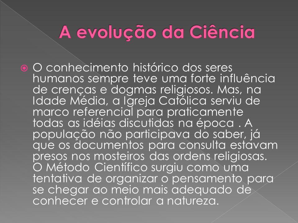 A evolução da Ciência