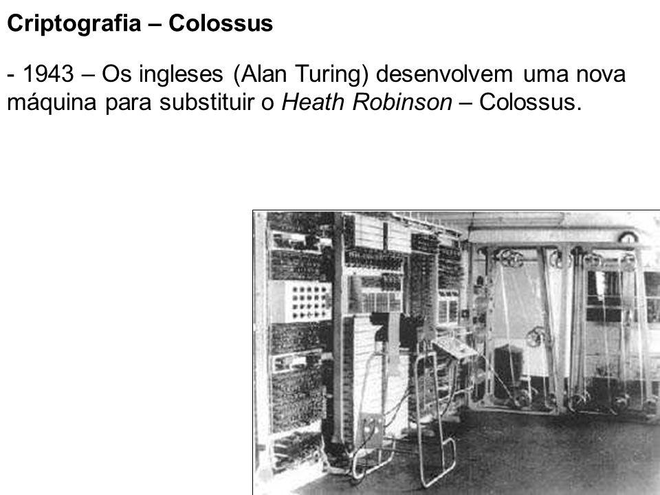 Criptografia – Colossus