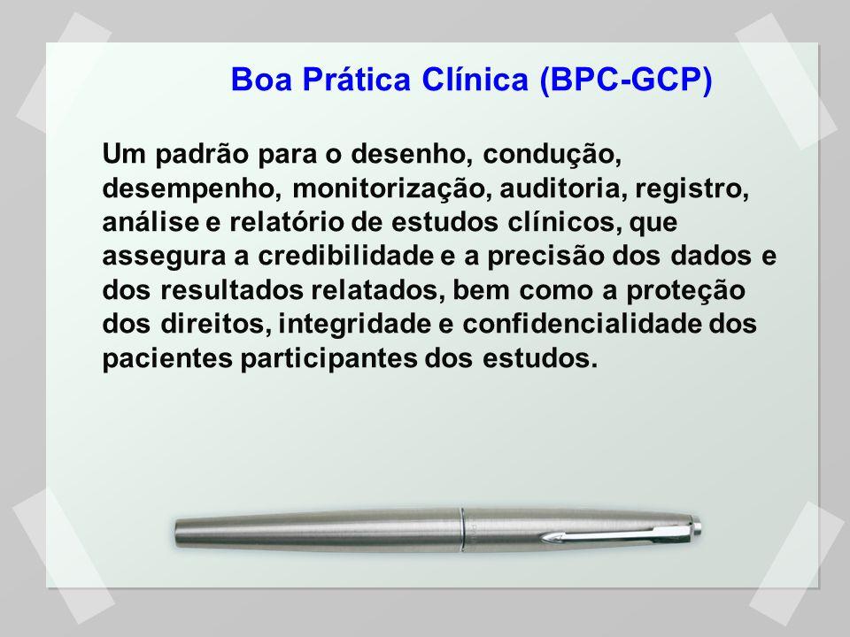 Boa Prática Clínica (BPC-GCP)