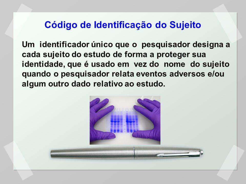 Código de Identificação do Sujeito