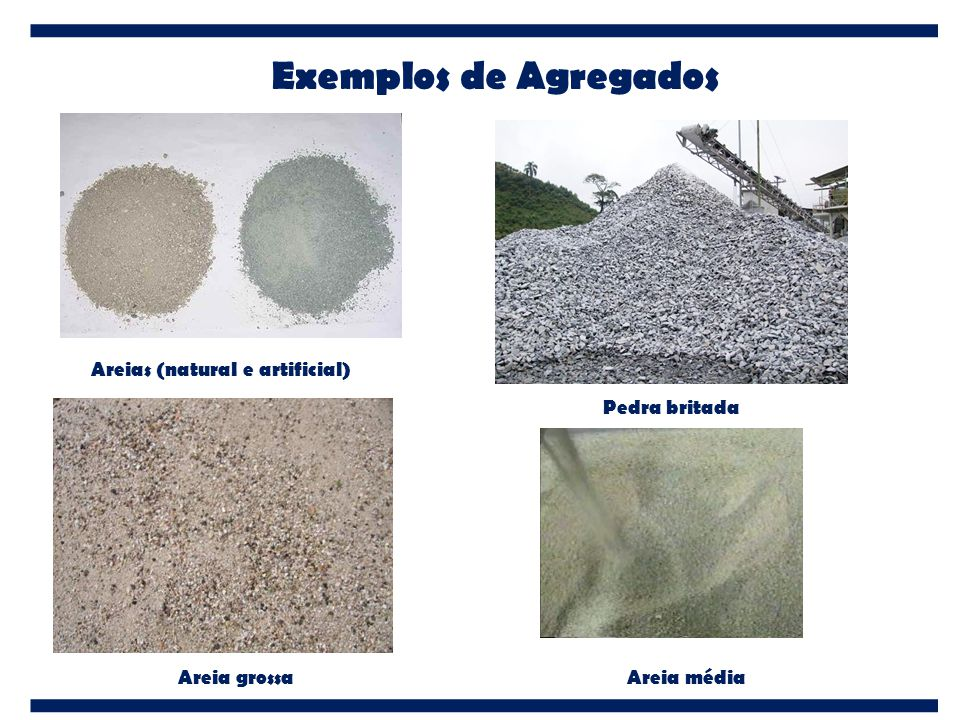 Areias (natural e artificial)