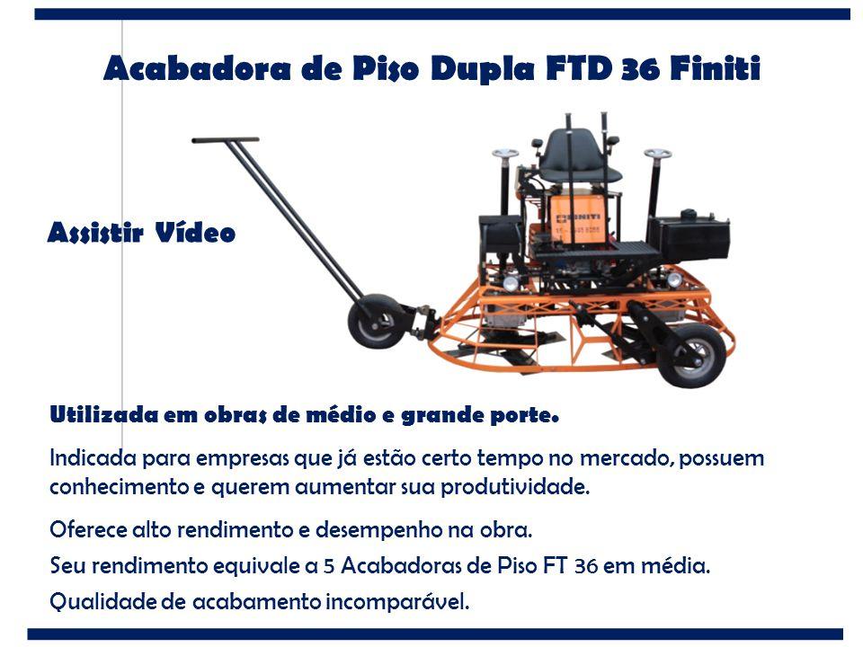 Acabadora de Piso Dupla FTD 36 Finiti