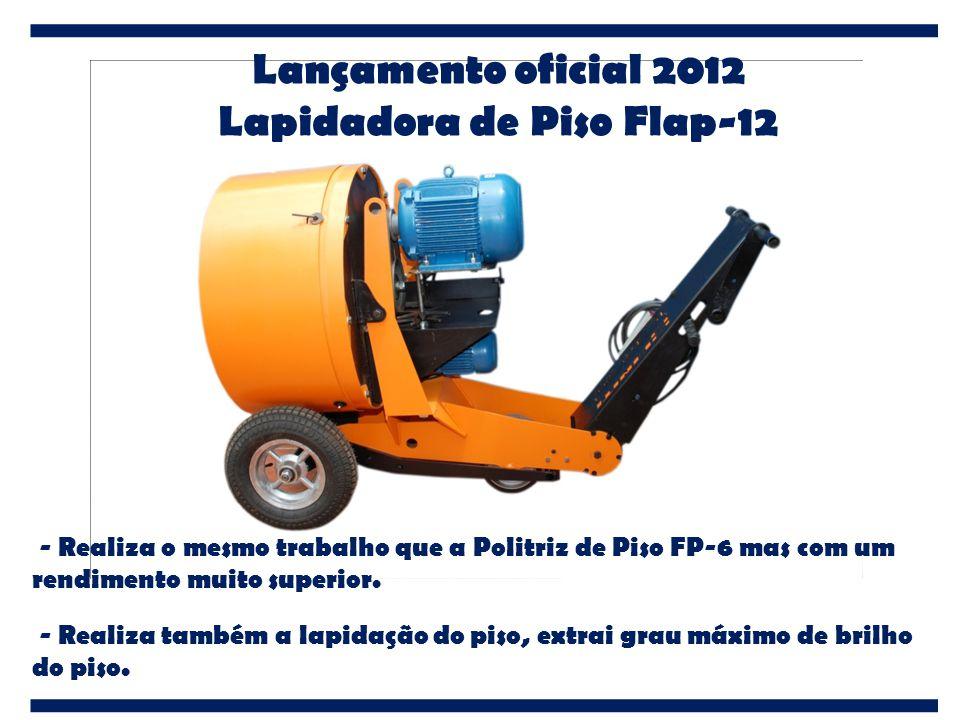 Lapidadora de Piso Flap-12