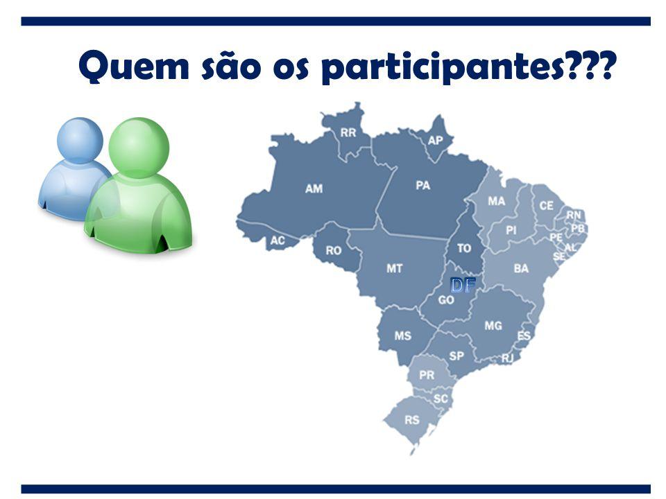 Quem são os participantes