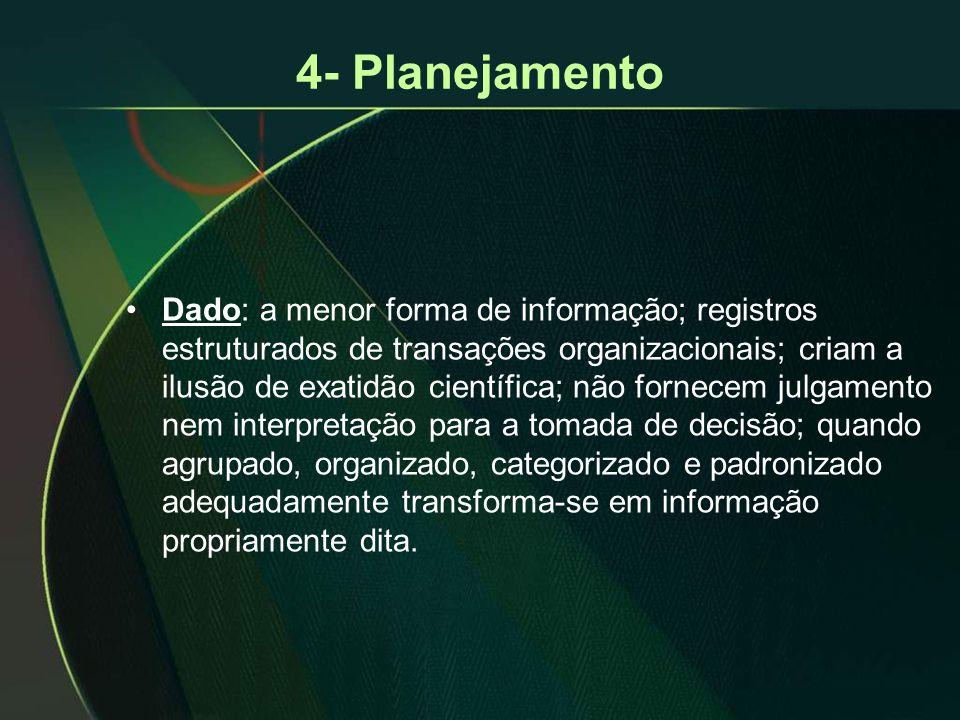 4- Planejamento