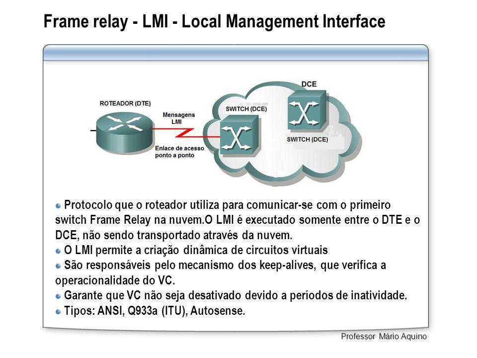 Frame relay - LMI - Local Management Interface