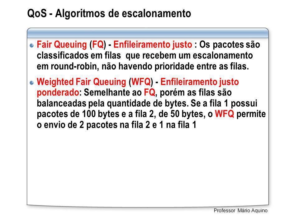 QoS - Algoritmos de escalonamento