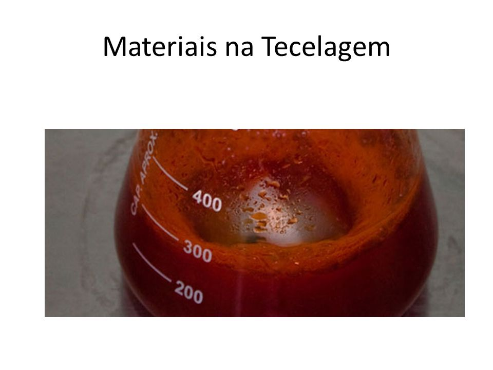 Materiais na Tecelagem
