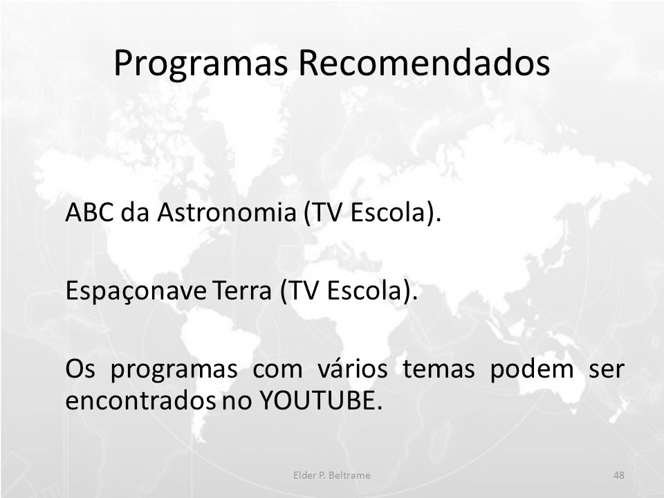 Programas Recomendados