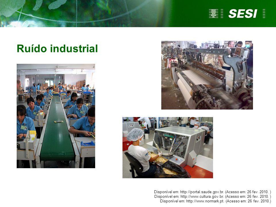 Ruído industrial Questionar se os trabalhadores convivem com esses tipos de ruído em seu ambiente de trabalho e como eles lidam com essa situação.
