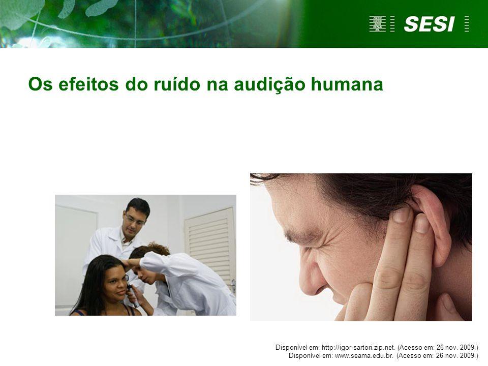 Os efeitos do ruído na audição humana