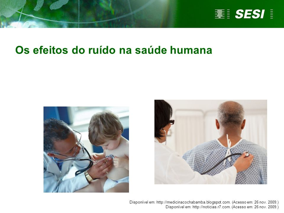 Os efeitos do ruído na saúde humana
