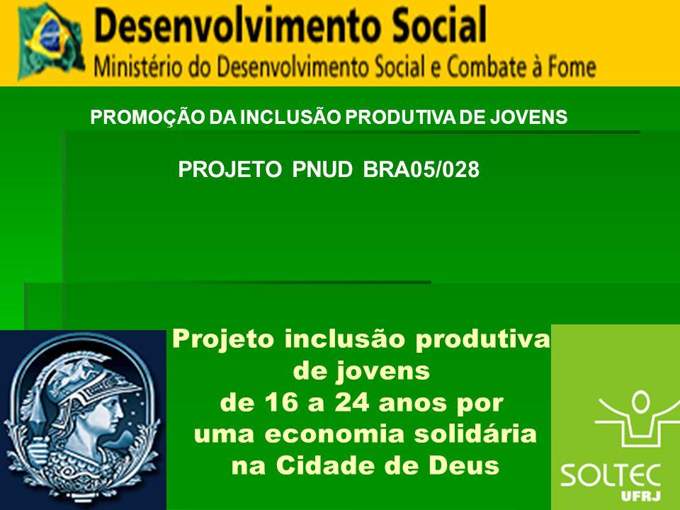 PROMOÇÃO DA INCLUSÃO PRODUTIVA DE JOVENS