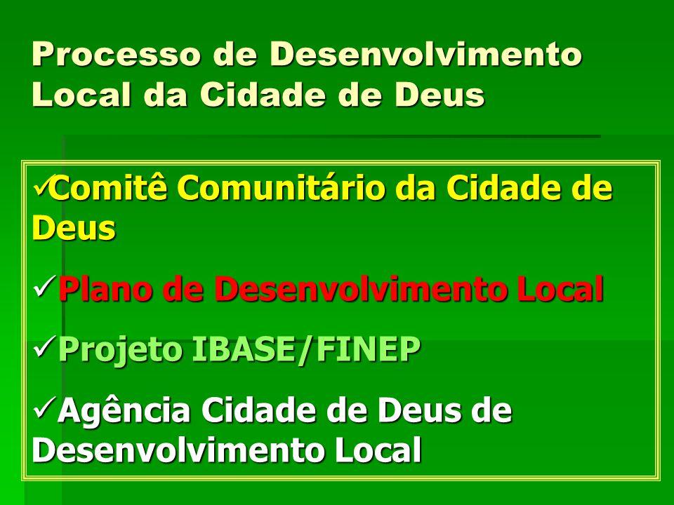 Processo de Desenvolvimento Local da Cidade de Deus