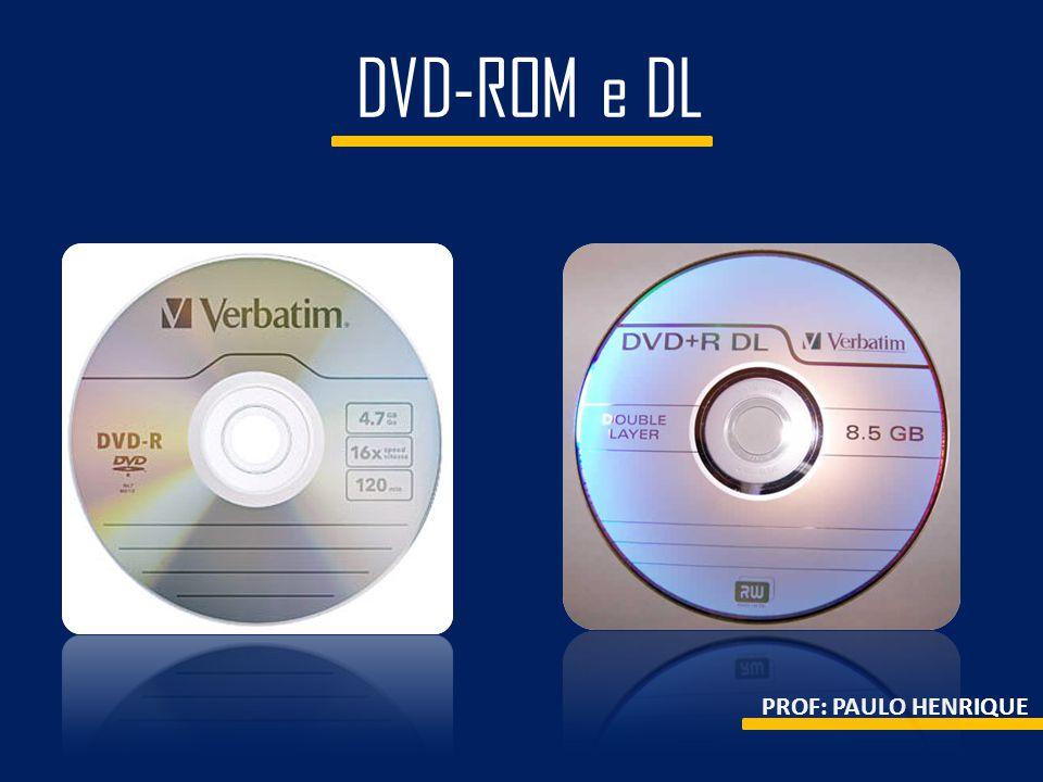 DVD-ROM e DL PROF: PAULO HENRIQUE