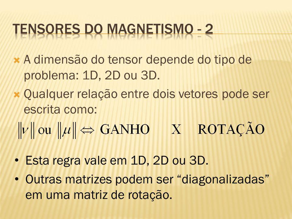 Tensores do magnetismo - 2