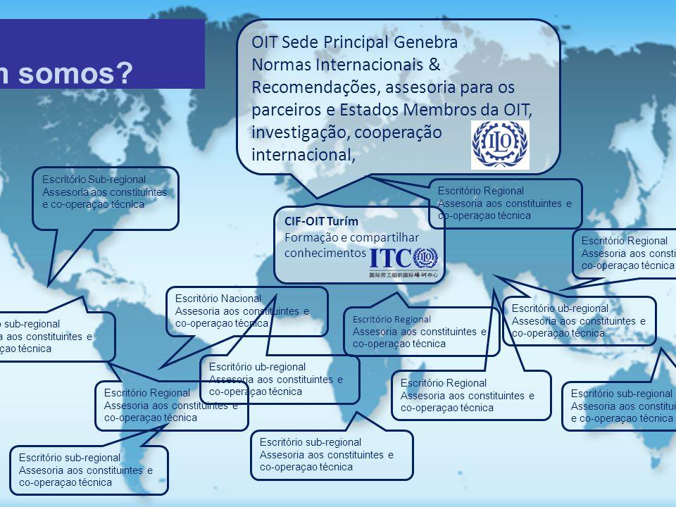 OIT: Quem somos OIT Sede Principal Genebra