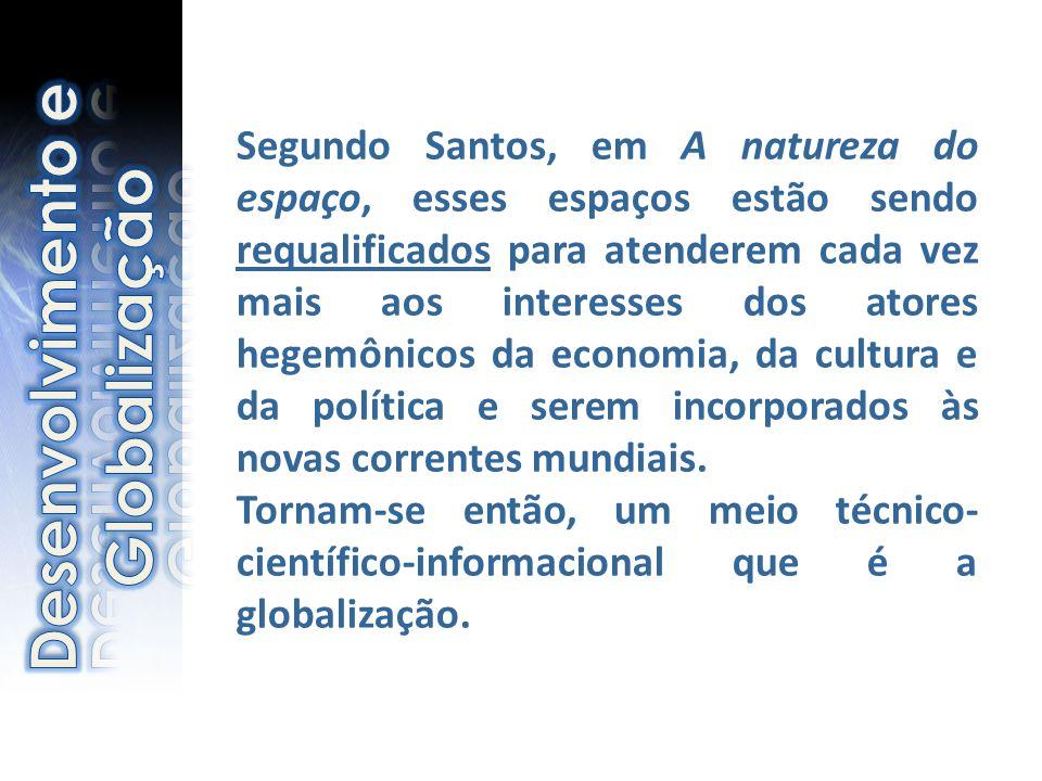 Desenvolvimento e Globalização