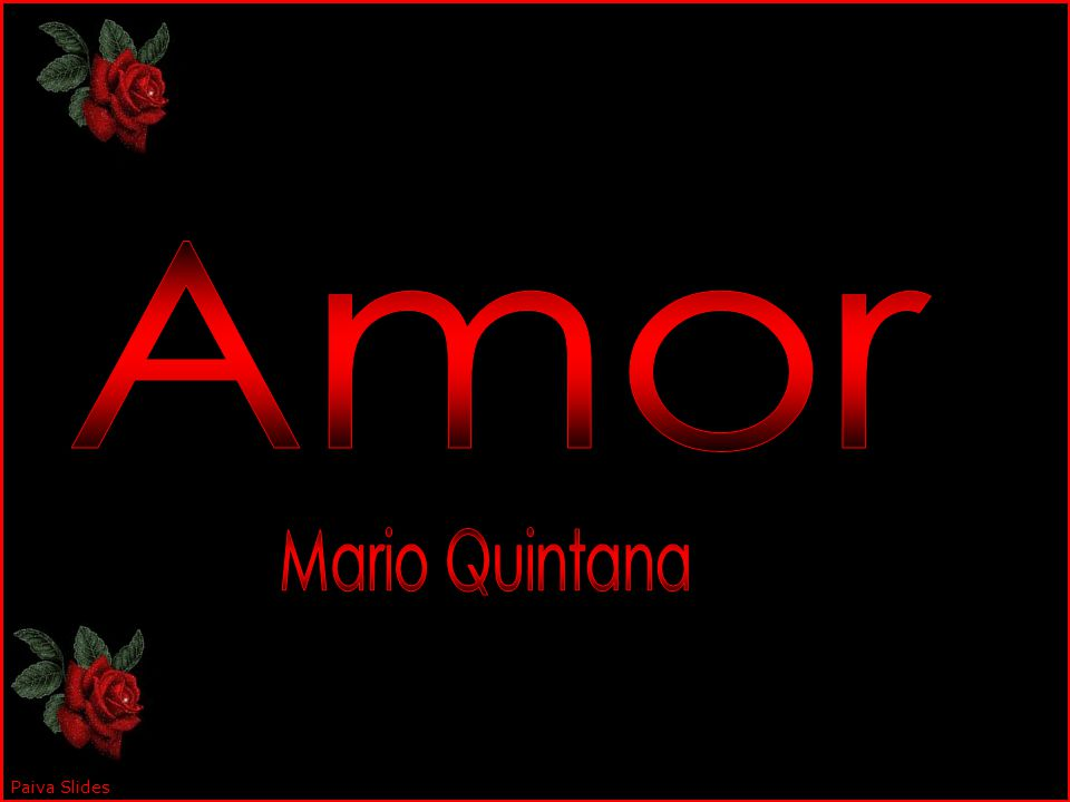 Amor Mario Quintana