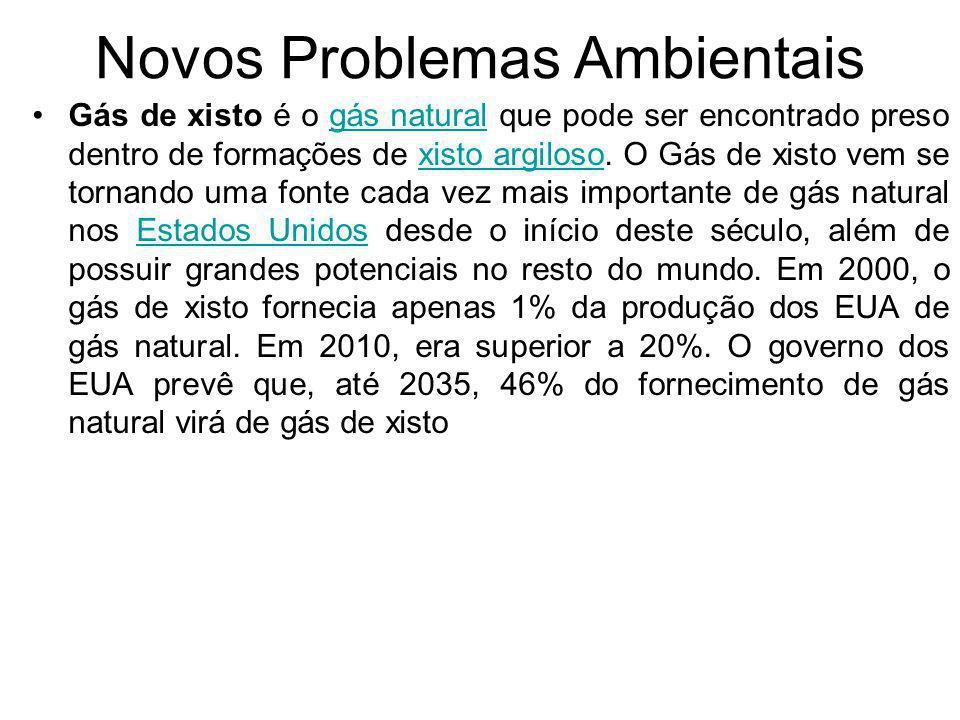 Novos Problemas Ambientais