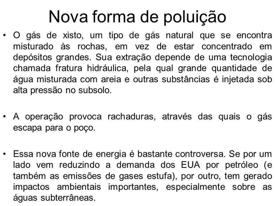 Nova forma de poluição