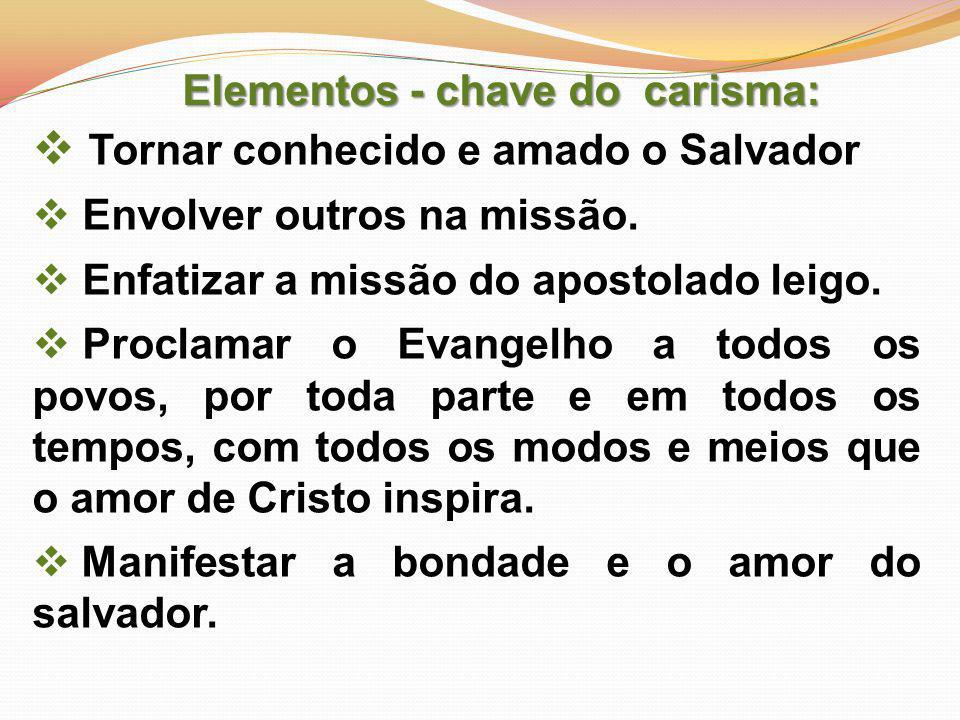 Tornar conhecido e amado o Salvador