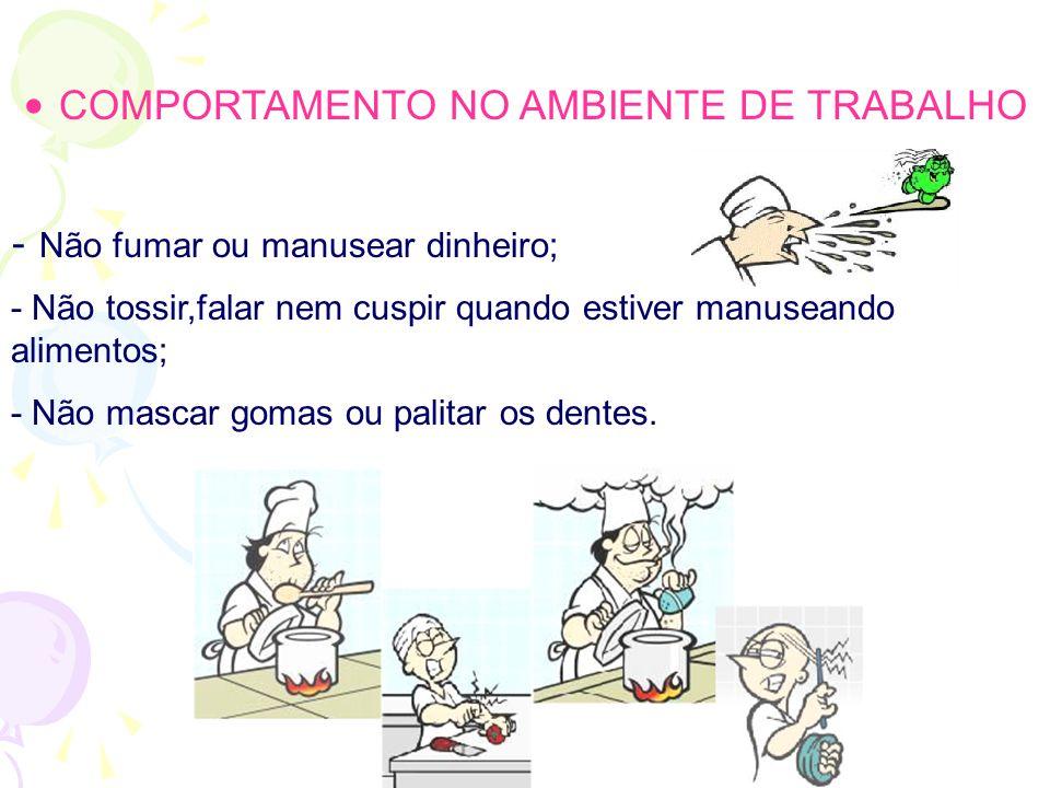 COMPORTAMENTO NO AMBIENTE DE TRABALHO