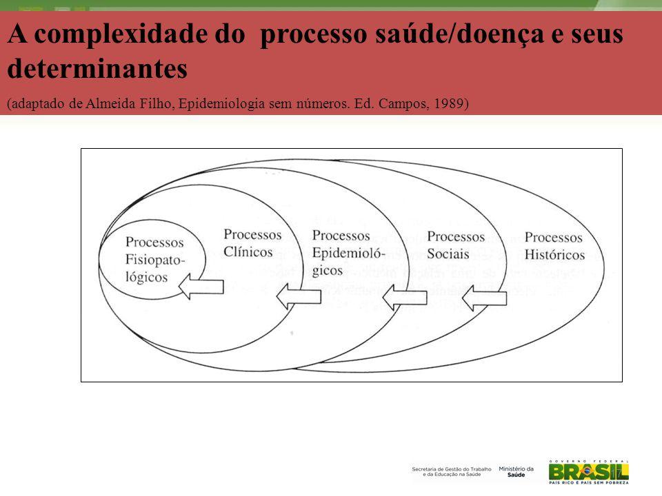 2006 A complexidade do processo saúde/doença e seus determinantes