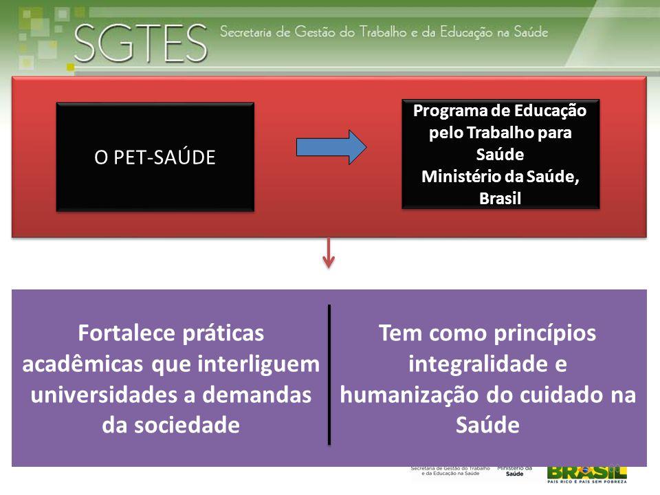Tem como princípios integralidade e humanização do cuidado na Saúde