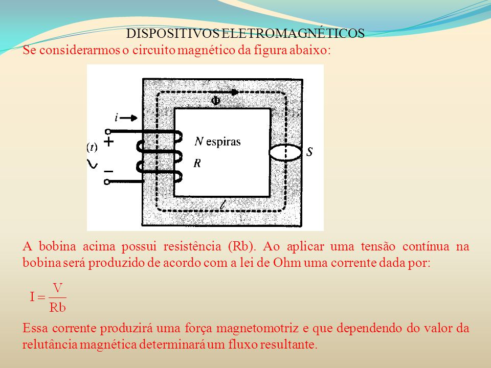 DISPOSITIVOS ELETROMAGNÉTICOS