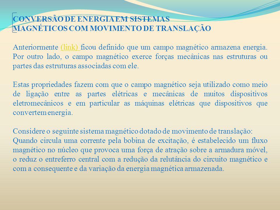 CONVERSÃO DE ENERGIA EM SISTEMAS