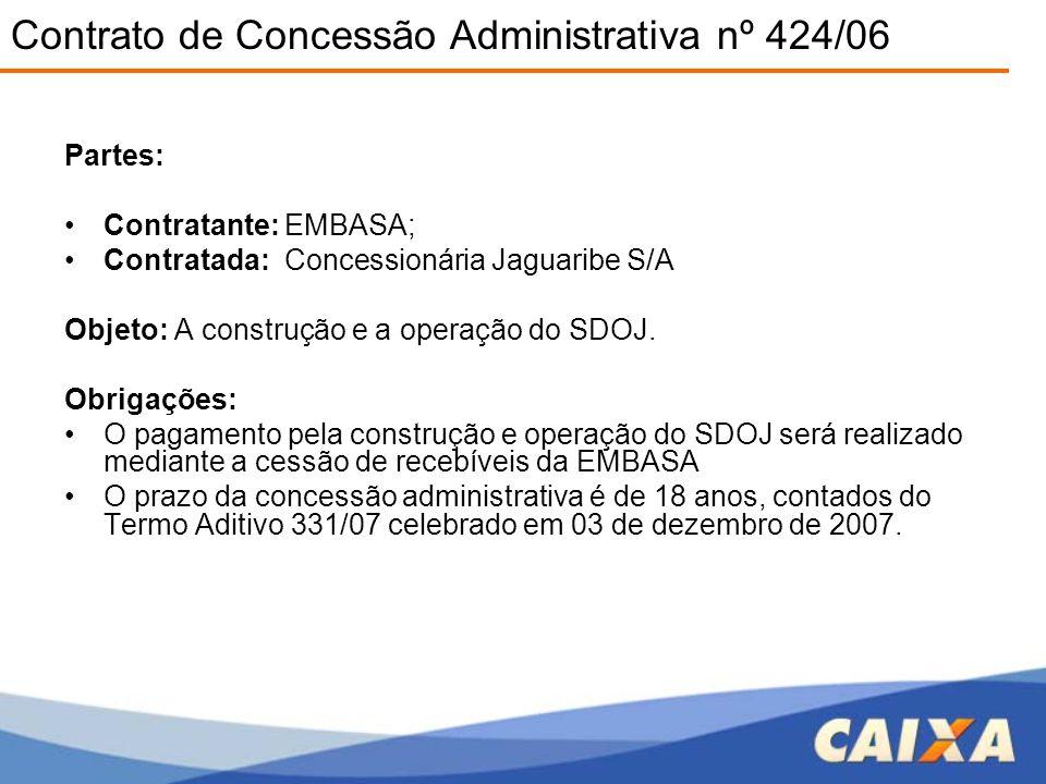 Contrato de Concessão Administrativa nº 424/06